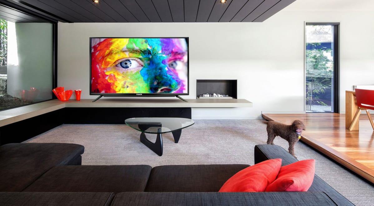 HUIDI - HD58D8M18 with Sound Bar 55 inch smart led tv