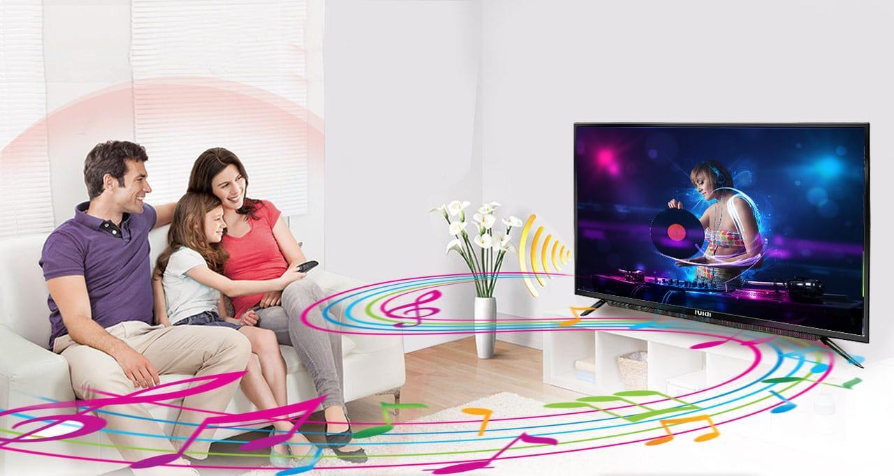 huidi 55 inch smart led tv