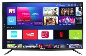 huidi 55 inches smart tv