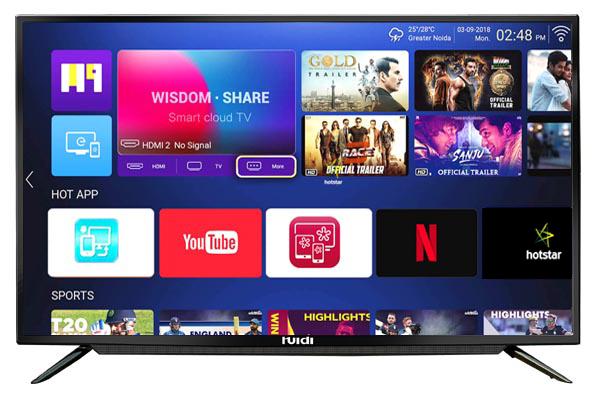 huidi led tv 40 inches