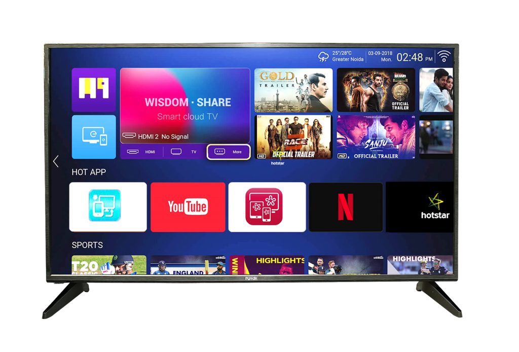 50 inches smart led tv
