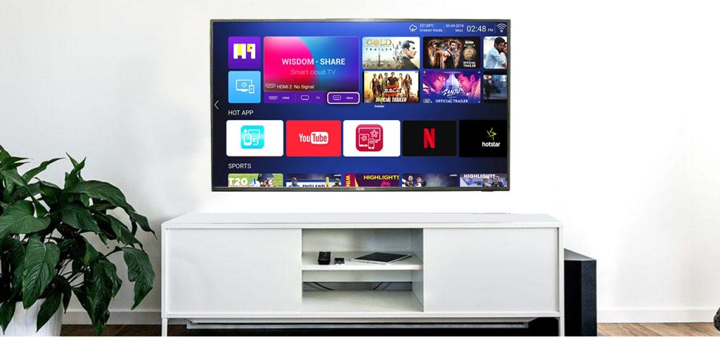 huidi smart led tv 32